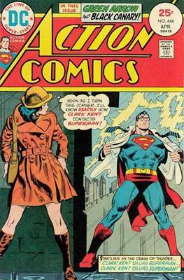 Action Comics Vol. 1 (1938-2011; 2016-) (Comic Book) #446
