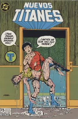 Nuevos Titanes Vol. 1 (1984-1988) (Grapa 40 pp) #37