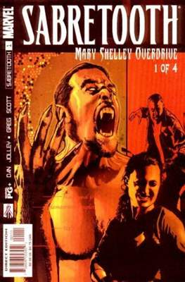 Sabretooth: Mary Shelley Overdrive (Comic Book) #1