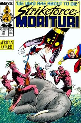 Strikeforce Morituri (Comic-book.) #23