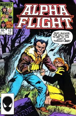 Alpha Flight Vol. 1 (1983-1994) (Comic Book) #13