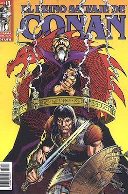 El Reino Salvaje de Conan (Grapa 48-80 pp) #13
