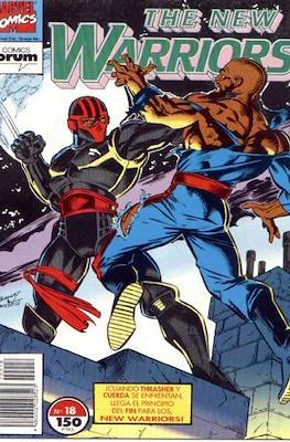 The New Warriors vol. 1 (1991-1995) (Grapa. 17x26. 24 páginas. Color. (1991-1995).) #18