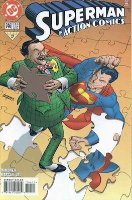 Action Comics Vol. 1 (1938-2011; 2016-) (Comic Book) #746