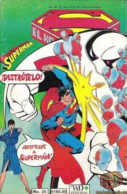 Superman Vol. 1 (Grapa. 1986-2001) #20