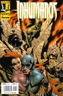 Inhumanos (1999-2000). Marvel Knights (Grapa 24 pp) #12