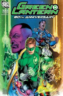 Green Lantern 80th Anniversary 100-Page Super Spectacular #1 (Variant Cover) (Softcover 100 pp) #1.6