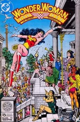 Wonder Woman (1988-1991) (Grapa, 32-64 pp) #11