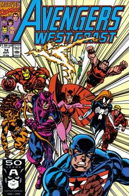 West Coast Avengers Vol. 2 (Comic-book. 1985 -1989) #74