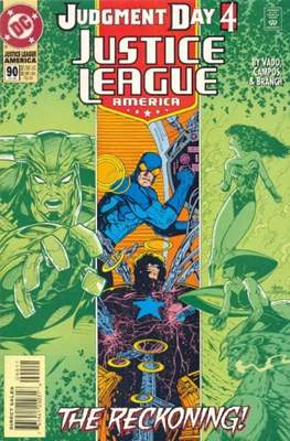 Justice League / Justice League International / Justice League America (1987-1996) (Comic-Book) #90