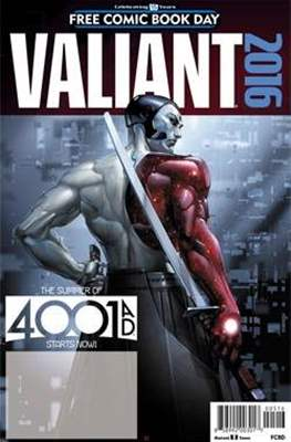 Valiant 2016. Free Comic Book Day 2016