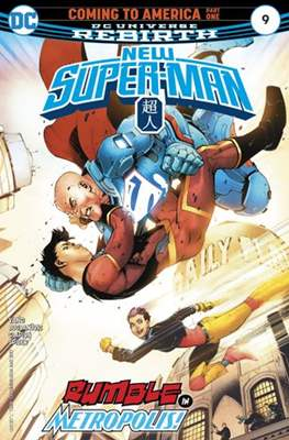 New Super-Man (Comic-Book) #9