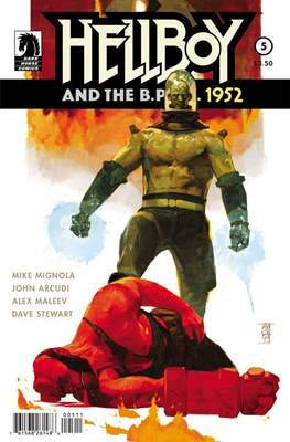 Hellboy and the B.P.R.D. #5