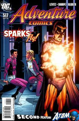 New Comics / New Adventure Comics / Adventure Comics (1935-1983; 2009-2011) (Saddle-Stitched) #517
