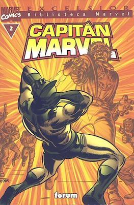 Biblioteca Marvel: Capitán Marvel (2002) (Rústica 160 pp) #2