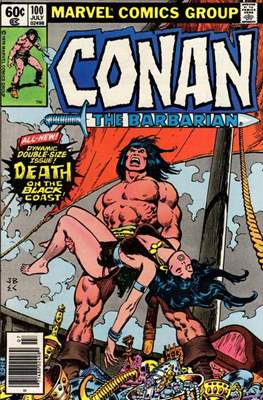 Conan The Barbarian (1970-1993) (Comic Book 32 pp) #100