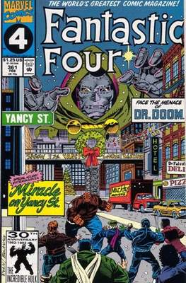 Fantastic Four Vol. 1 (1961-1996) (saddle-stitched) #361