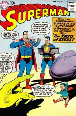 Superman Vol. 1 / Adventures of Superman Vol. 1 (1939-2011) (Comic Book) #135