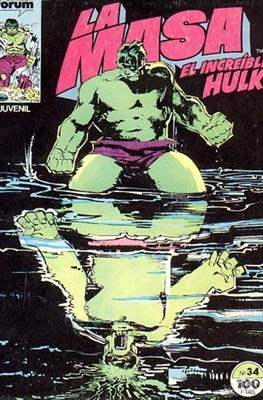 La Masa. El Increíble Hulk (Grapa 36-32 pp) #34