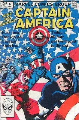 Captain America Vol. 1 Annual (1971-1994) #6
