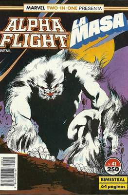 Alpha Flight Vol. 1 / Marvel Two-in-one: Alpha Flight & La Masa Vol.1 (1985-1992) (Grapa 32-64 pp) #41