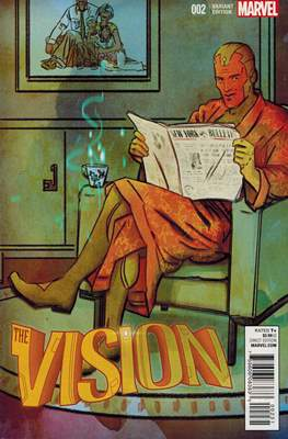 The Vision Vol. 3 (Variant Cover) (Comic Book) #2