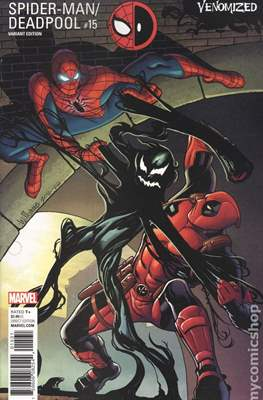 Spider-Man / Deadpool (Variant Cover) (Comic Book) #15