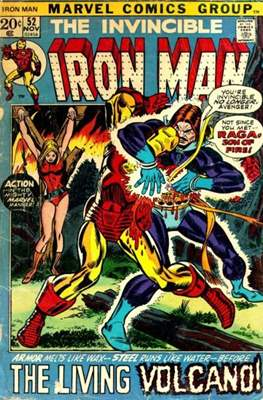 Iron Man Vol. 1 (1968-1996) (Comic book) #52
