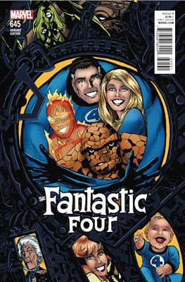 Fantastic Four Vol. 5 (Variant Cover) #645.2