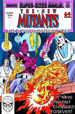 The New Mutants Annual (Grapa) #4