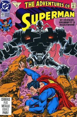 Superman Vol. 1 / Adventures of Superman Vol. 1 (1939-2011) (Comic Book) #491