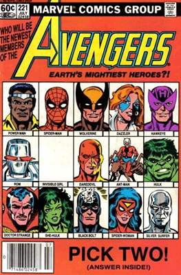 The Avengers Vol. 1 (1963-1996) (Comic Book) #221