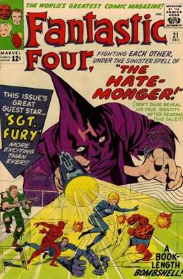 Fantastic Four Vol. 1 (1961-1996) (saddle-stitched) #21