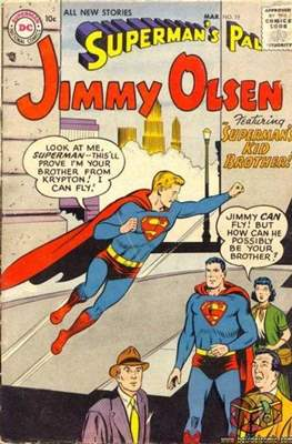 Superman's Pal, Jimmy Olsen / The Superman Family (Comic Book) #19