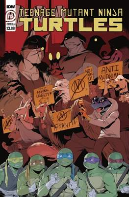 Teenage Mutant Ninja Turtles (2011-...) (Comic Book) #112