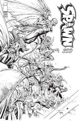Spawn (Variant Cover) (Comic Book) #300.11