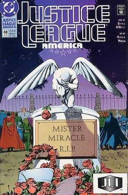 Justice League / Justice League International / Justice League America (1987-1996) (Comic-Book) #40