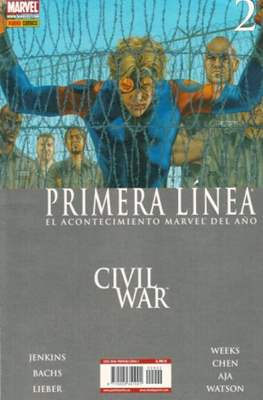 Civil War: Primera Línea (2007) (Rústica) #2