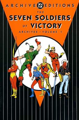 DC Archive Editions. The Seven Soldiers of Victory (Hardcover 240-228-288 pp) #1