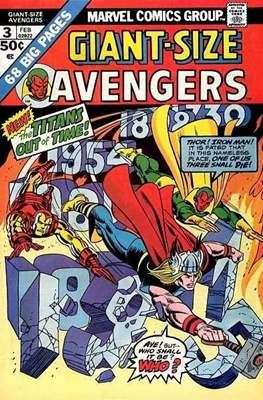 Giant-Size Avengers (1974-1975) (Comic Book) #3