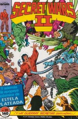 Secret Wars (1985-1987) (Grapa 32 pp) #39
