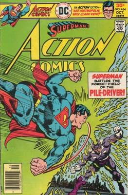 Action Comics Vol. 1 (1938-2011; 2016-) (Comic Book) #464