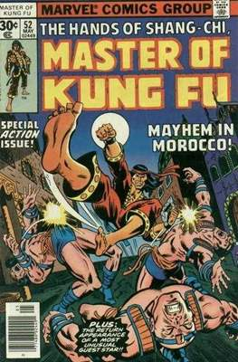 Master of Kung Fu (Comic Book. 1974 - 1983. Continued from Special Marvel Edition #16) #52