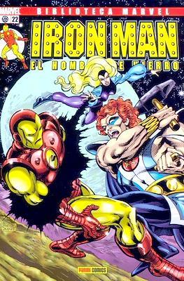 Biblioteca Marvel: Iron Man (2005-2008) (Rústica 160 pp) #22