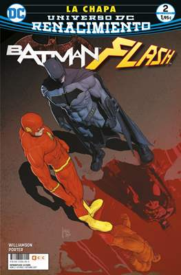 Batman / Flash: La chapa. Renacimiento. (Grapa 24 pp) #2