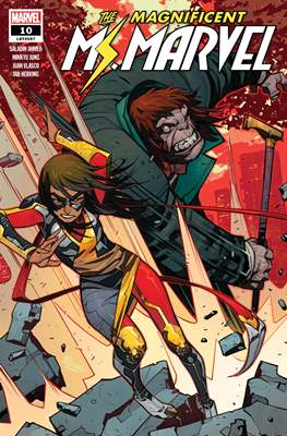 The Magnificent Ms. Marvel (2019-) #10