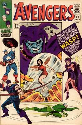 The Avengers Vol. 1 (1963-1996) (Grapa) #26