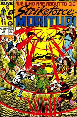 Strikeforce Morituri (Comic-book.) #18