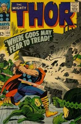 Journey into Mystery / Thor Vol 1 (Comic Book) #132