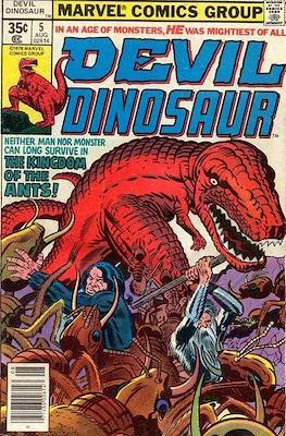 Devil Dinosaur (Comic Book. 1978) #5